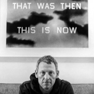 Lance Armstrong - that was then, this is now