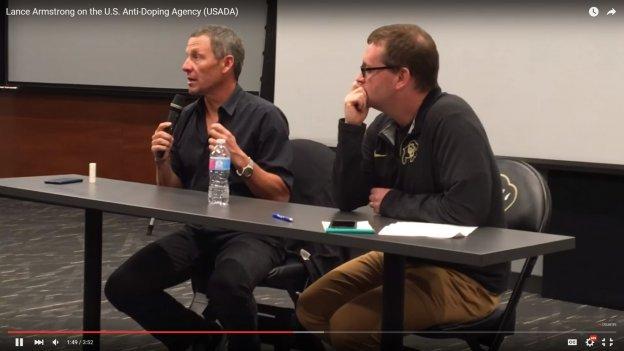 Lance Armstrong on USADA