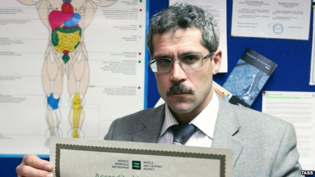 Grigory Rodchenkov, the director the Russian Pro-Doping Agency