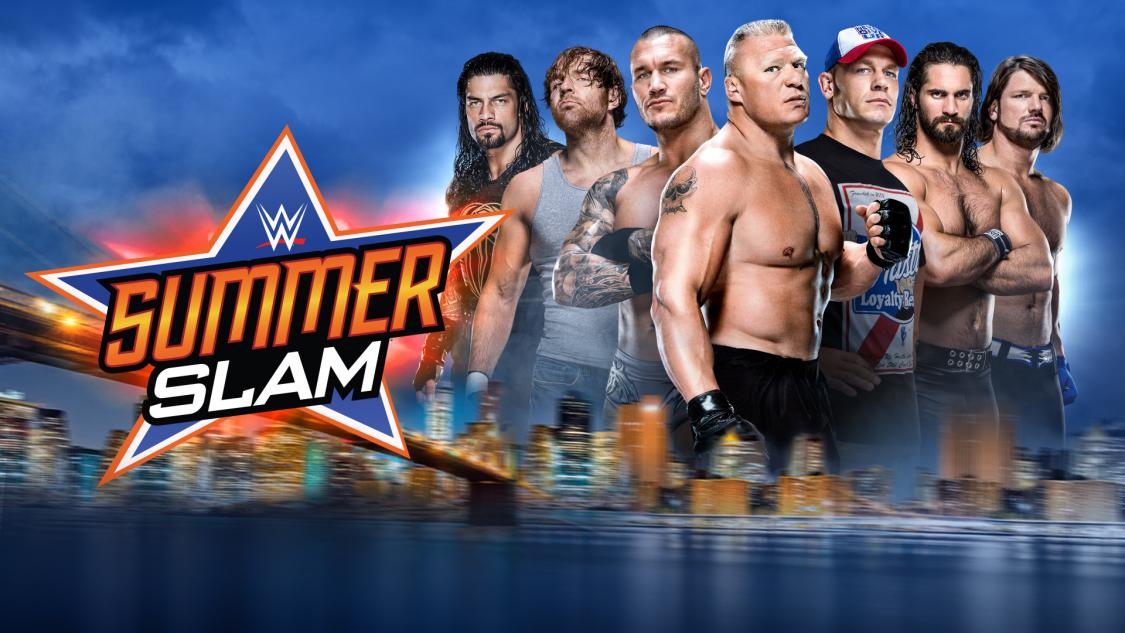 2016 SummerSlam with Brock Lesnar