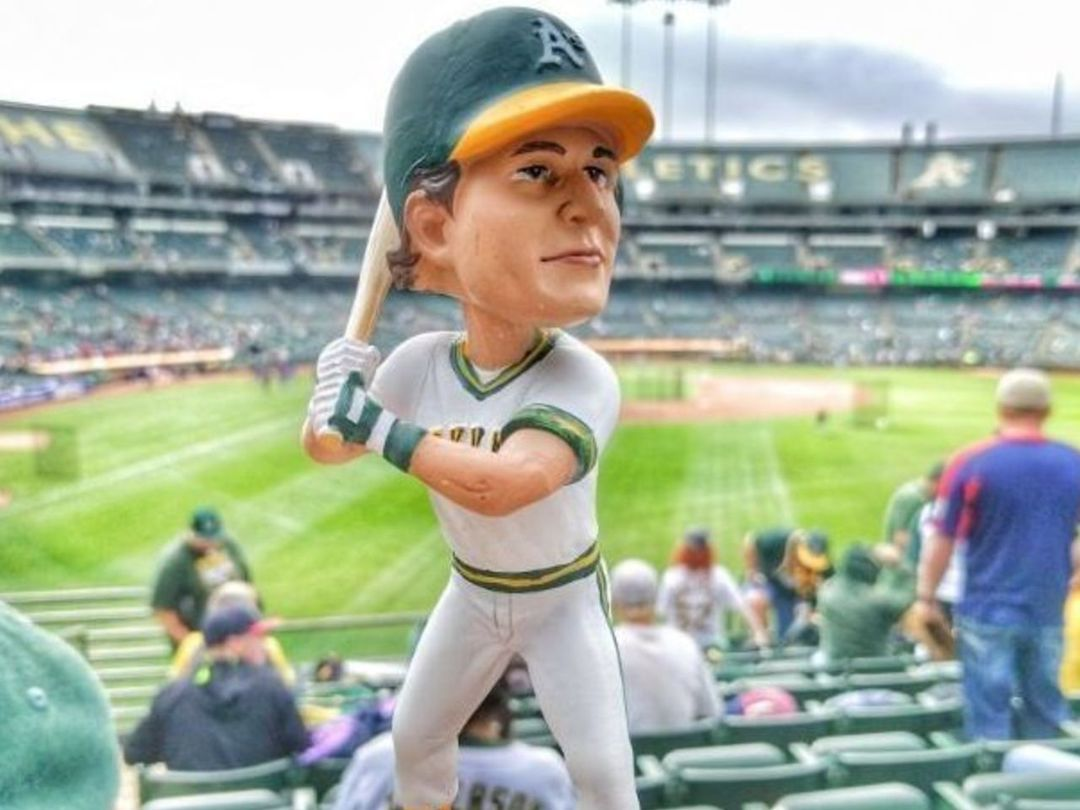 Jose Canseco bobblehead doll