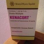 glucocorticoid corticosteroid hormone triamcinolone (Kenacort)