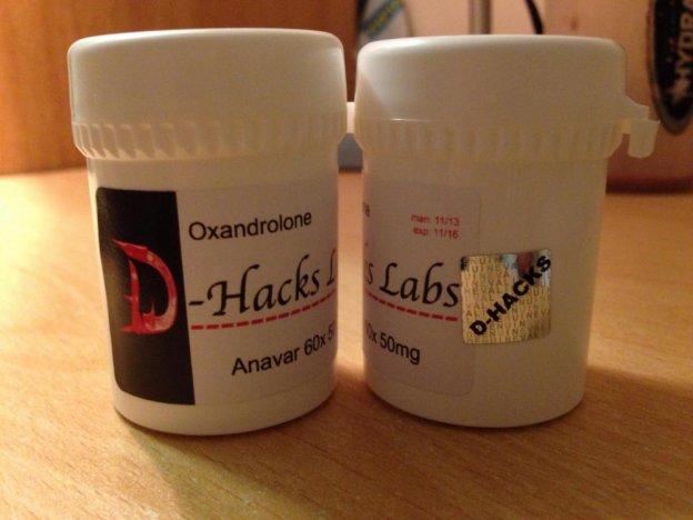 D-Hacks Laboratories Anavar (oxandrolone)