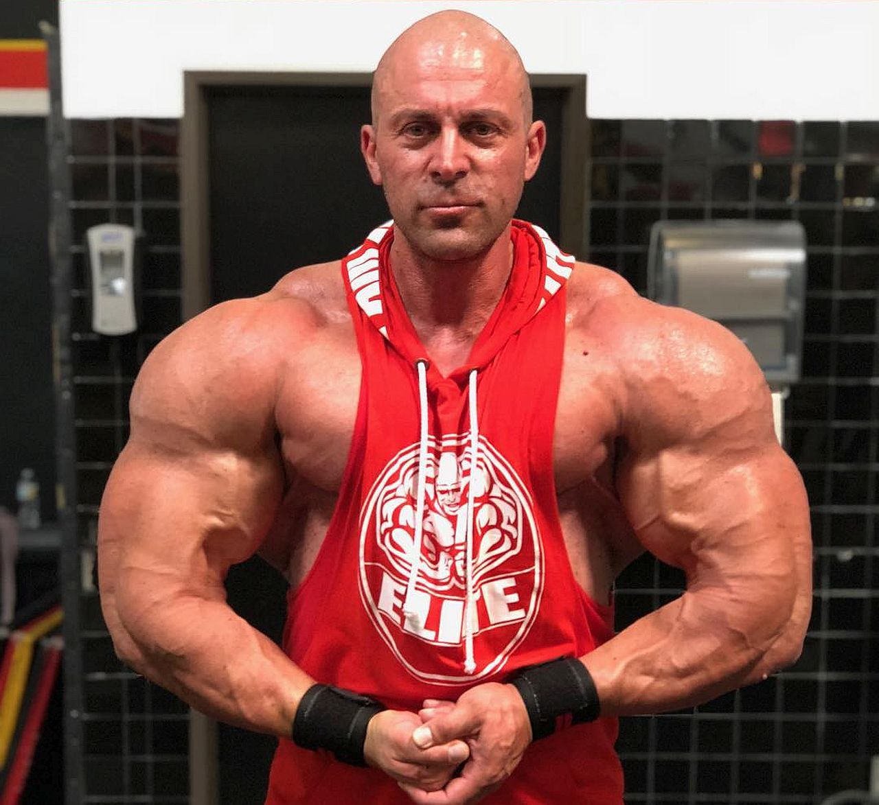 IFBB Pro Luca Pennazzato Could Have a Heart Attack if Someone Scares Him