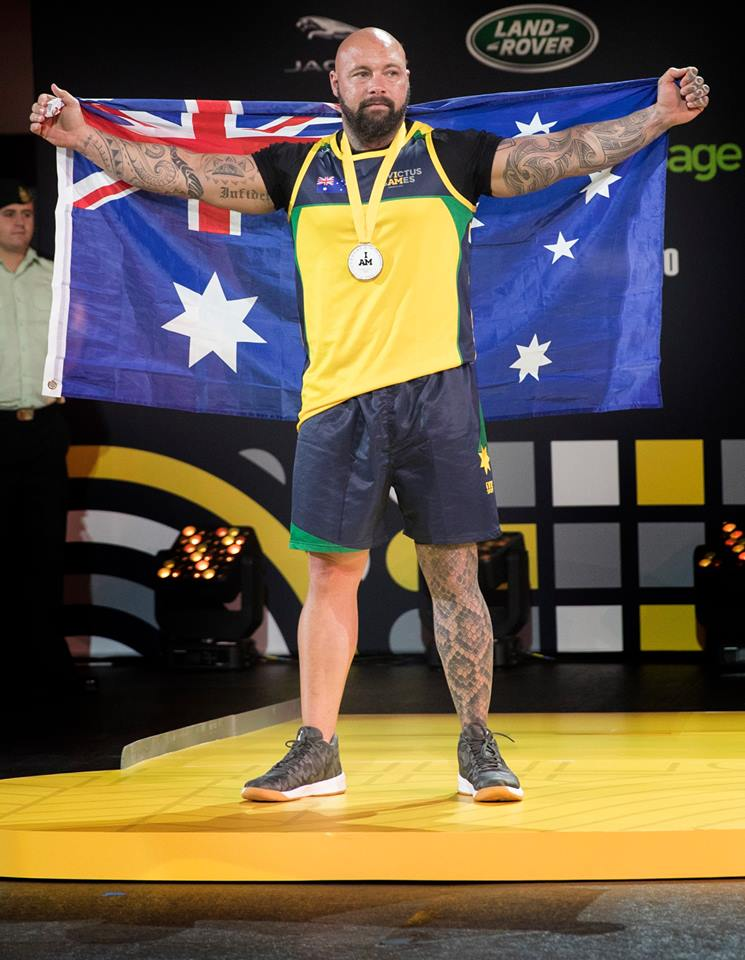 Tyrone Gawthorne, star of Australian Invictus Games Team