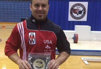 Olympic Weightlifter Ryan Hudson Switches to Powerlifting After USADA Bans Him for Steroids