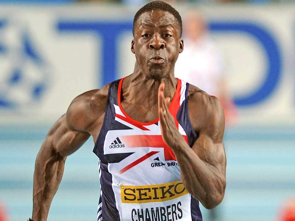 Dwain Chambers Not Eligible for British Invitational Meet Due to Steroid Past