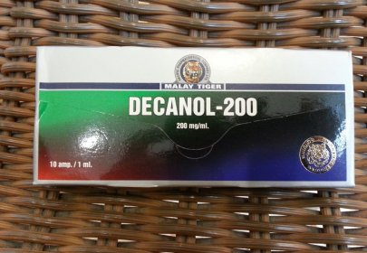 Malay Tiger Returns to AnabolicLab with Decanol-200