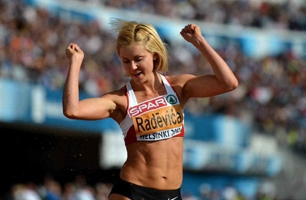London Olympics Women's Long Jump Overrun with Steroid Users