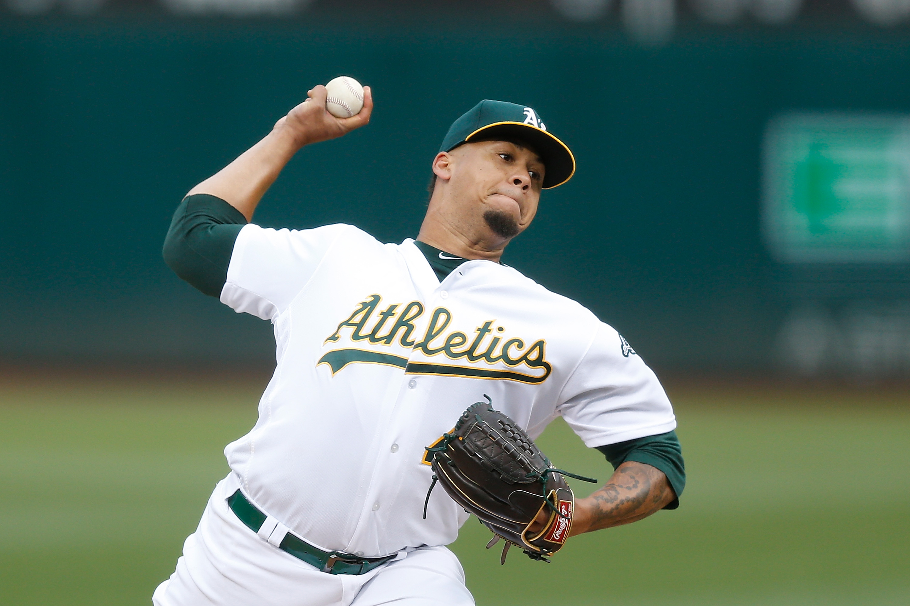 Oakland Athletics Frankie Montas Tested Positive for Ostarine