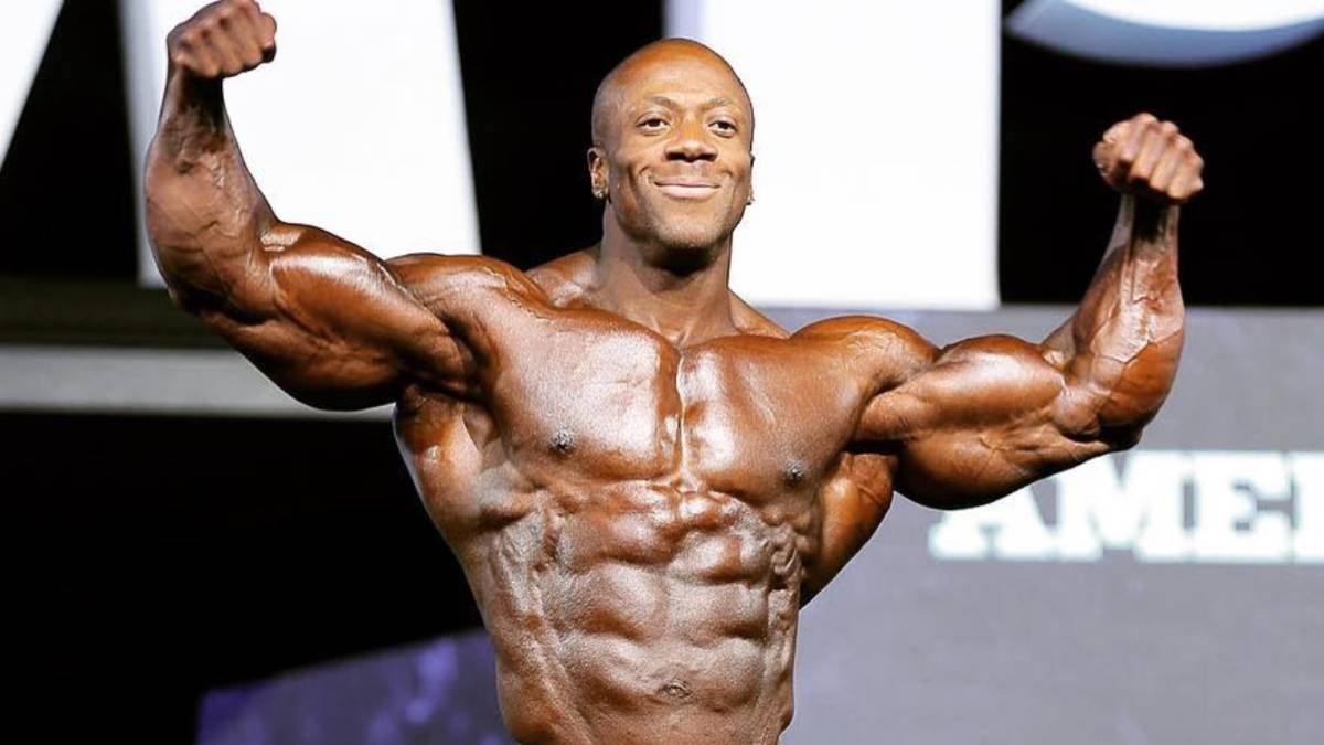 Mr. Olympia Shawn Rhoden Charged with Felony Rape