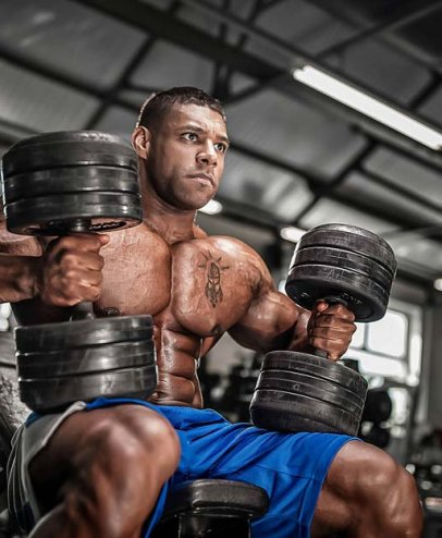 Nathan De Asha Competes at Mr. Olympia While Top Customer Goes to Prison