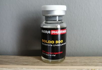 Boldenone Product Continues the Positive Trend for ParaPharma